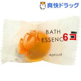 パトモス バスエッセンス1P アプリコット(8g*6コセット)【パトモス】[入浴剤]
