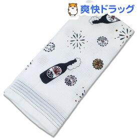 今治産 布ごよみ フェイスタオル ビール ブルー 23159(1枚入)