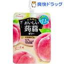 おいしい蒟蒻ゼリー ピーチ味(150g*6コ入)【たらみ】