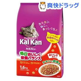カルカン ドライ チキンと野菜味(1.6kg)【dalc_kalkan】【m3ad】【カルカン(kal kan)】[キャットフード]