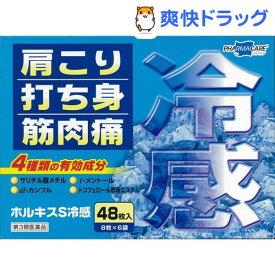 【第3類医薬品】ホルキスS冷感(48枚入)【ホルキス】