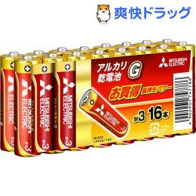 アルカリ乾電池 単3 LR6GD/16S(16コ入)