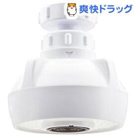 GAONA クビフリキッチンシャワー ホワイト GA-HK001(1コ入)【GAONA】