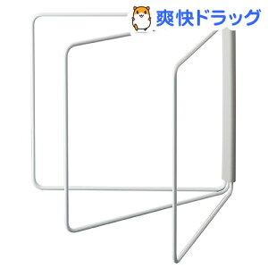 折り畳み布巾ハンガー プレート ホワイト(1コ入)