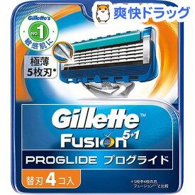 ジレット プログライドマニュアル 替刃4B(4コ入)【stkt09】【ジレット】