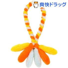 ペティオ ひっぱれワンワンロープ オレンジ(1コ入)【ペティオ(Petio)】