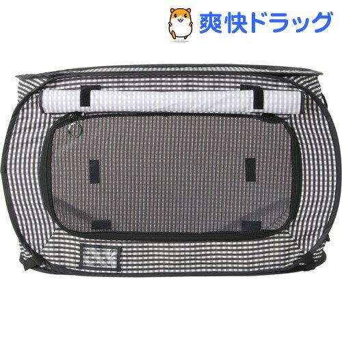 猫壱 ポータブル ケージ ブラック(1コ入)【猫壱】【送料無料】