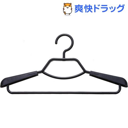 エフフィット 形態安定シャツ用ハンガー ブラック(2本組)【エフフィット(F-FIT)】