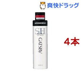 ギャツビー ジェルウォーター スーパーハード(200ml*4本セット)【GATSBY(ギャツビー)】