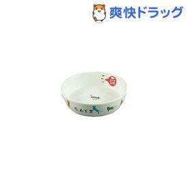 マルカン 猫用陶器食器 遊ぶ猫(1コ入)【フレンドランド】