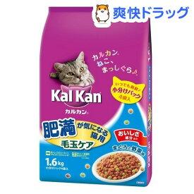 カルカン ドライ 肥満が気になる猫用 まぐろと野菜味(1.6kg)【dalc_kalkan】【m3ad】【カルカン(kal kan)】[キャットフード]