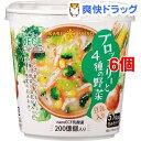 ひかり味噌 VEGE MISO SOUPカップ ブロッコリーと4種の野菜(6個セット)[味噌汁]