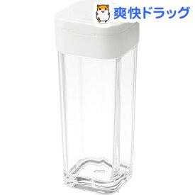 スパイスボトル アクア ホワイト(1コ入)【山崎実業】