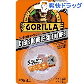 KURE ゴリラ両面テープ 1780 クリア(1個)【KURE(クレ)】