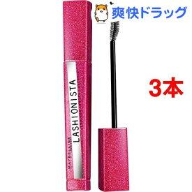 【訳あり】メイベリン ラッシュニスタ N GL01 ブラック(7.5ml*3本セット)【メイベリン】