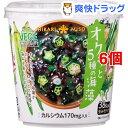 ひかり味噌 VEGE MISO SOUPカップ オクラと5種の海藻(6個セット)[味噌汁]