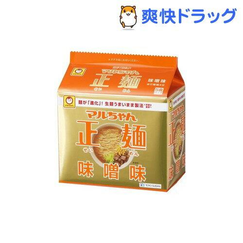 マルちゃん 正麺 味噌味(5食入)【マルちゃん正麺】