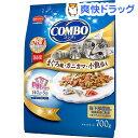 コンボ 猫下部尿路の健康維持 まぐろ味・カニカマ・小魚添え(140g*5袋入)【コンボ(COMBO)】