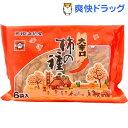 【訳あり】大辛口柿の種 6袋パック(138g)[お菓子 おやつ]
