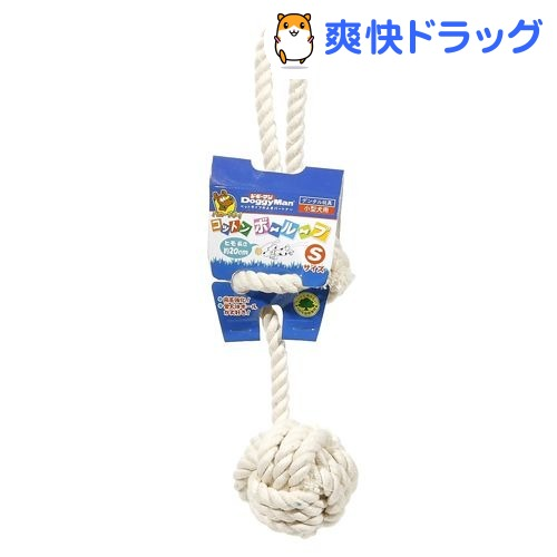 ドギーマン コットンボーループ(Sサイズ)【ドギーマン コットンシリーズ】