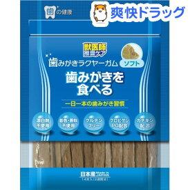 歯みがきラクヤーガム ソフト(14本入)