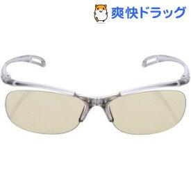 エレコム ブルーライト対策メガネ PC GLASSES(65%カット) OG-YBLP01GY グレー(1コ入)【エレコム(ELECOM)】
