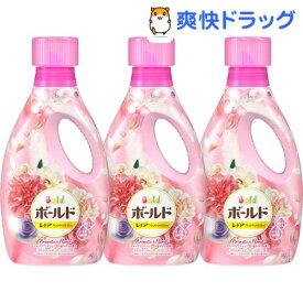 ボールドジェル アロマティックフローラル&サボンの香り 本体(850g*3本セット)【ボールド】