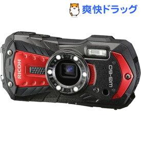リコー タフネスカメラ WG-60 RED レッド(1台)