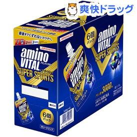 アミノバイタル ゼリー スーパースポーツ(100g*6コ入)【アミノバイタル(AMINO VITAL)】