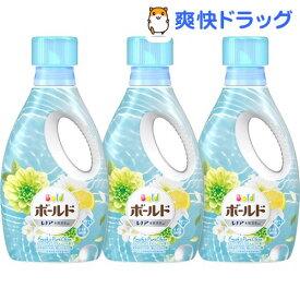 ボールドジェル フレッシュピュアクリーンの香り 本体(850g*3本セット)【ボールド】