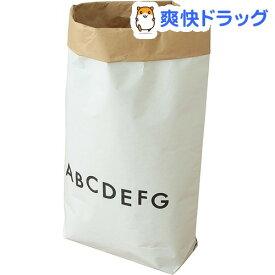 日本の米袋屋さんがつくった北欧風ペーパーバッグ ALPHABET アルファベット柄 YGK-2(1枚入)