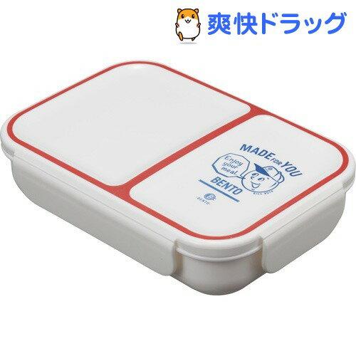 DSK 汁漏れしにくい弁当箱 ライスボーイ レッド(1コ入)【DSK】