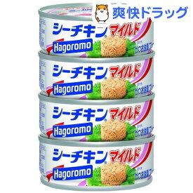 はごろもフーズ シーチキン マイルド(70g*4コ入)【シーチキン】[缶詰]