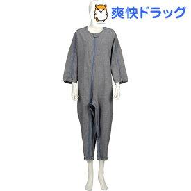 ソフトケア ねまき 厚手 紺 M(1枚入)【ソフトケア(介護用品)】