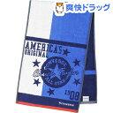 スポーツタオル コンバース カレッジライン ブルー 34*110cm SG804201(1枚入)