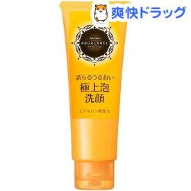 資生堂 アクアレーベル 豊潤泡洗顔フォーム(110g)【アクアレーベル】