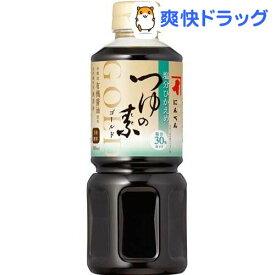 にんべん 塩分控えめ つゆの素 ゴールド(500ml)
