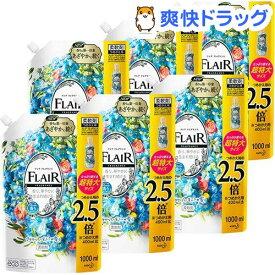 フレア フレグランス 柔軟剤 フラワー&ハーモニー つめかえ用 超特大サイズ 梱販売用(1000ml*6個セット)【フレア フレグランス】