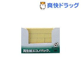 ポスト・イット 再生紙 エコノパック 見出し イエロー 7001-Y(100枚*25パッド)