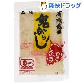 山清 有機栽培 鬼からし(30g)【山清(ヤマセイ)】