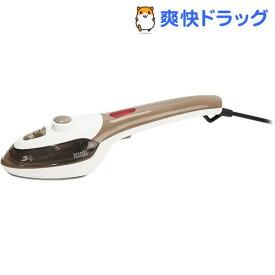 マクロス スマートアイロン&スチーマー セラミックコーティング ブラウン MEH-85BR(1台)