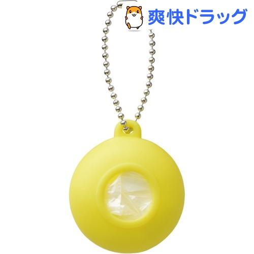 プラスディー(+d) レジ袋ホルダー ポケット イエロー DA-1020-YL(1コ入)【プラスディー(+d)】