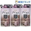 フレア フレグランス IROKA 柔軟剤 ホームリュクス パウダリー ピオニー 詰め替え(480mL*3袋セット)【フレア フレグラ…