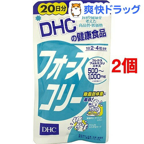 DHC フォースコリー 20日分(80粒*2コセット)【DHC】【送料無料】
