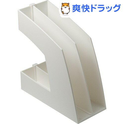 ソニック ホワイト ファイルボックス タテ型(1コ入)
