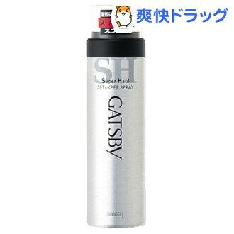 Gatsby set & keep spray super hard (180 g)