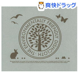 e.スポンジワイプ エコフレンドリー グレー/ブラウン 水切り WX101204(1枚)【e.スポンジワイプ】