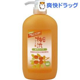 薬用 柿渋 ボディソープ(600ml)【薬用柿渋(熊野油脂)】