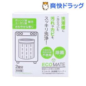 エコメイト 洗濯槽クリーナー(2回分(250g*2袋入))【エコメイト】