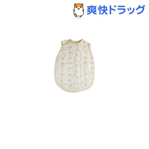 スカンジナビアン パターン コレクション 6重ガーゼスリーパー ブルー(1枚入)【バディバディ】